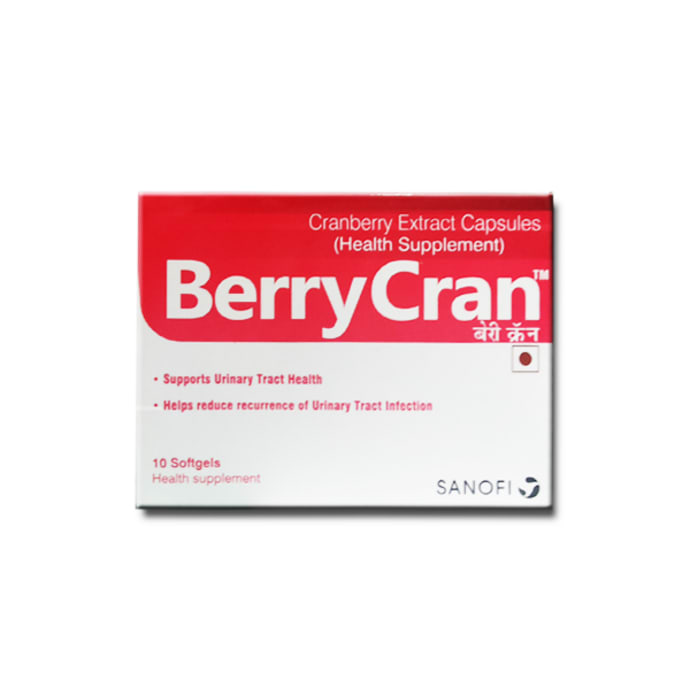 Berrycran Soft Gelatin Capsule