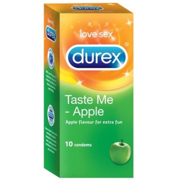 Durex Taste ME Condom Apple