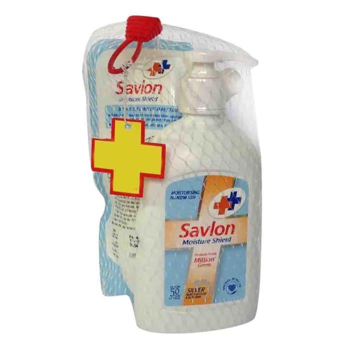 Savlon Moisture Shield Handwash 220ml(185ml Pouch Free)
