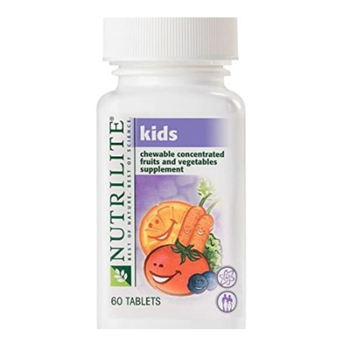 Amway Nutrilite Kids Chewable Concentrated Fruits and Vegetables Tablet