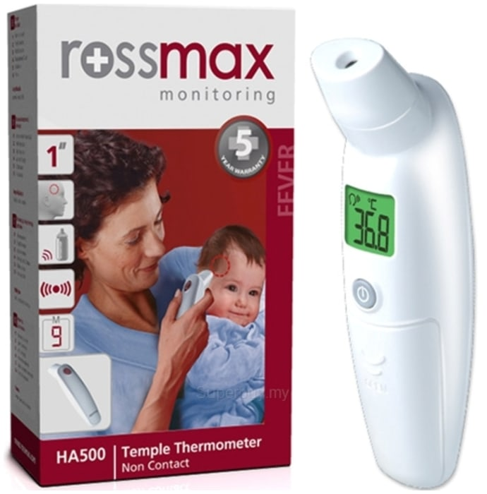Rossmax HA500 Temple Non Contact Thermometer