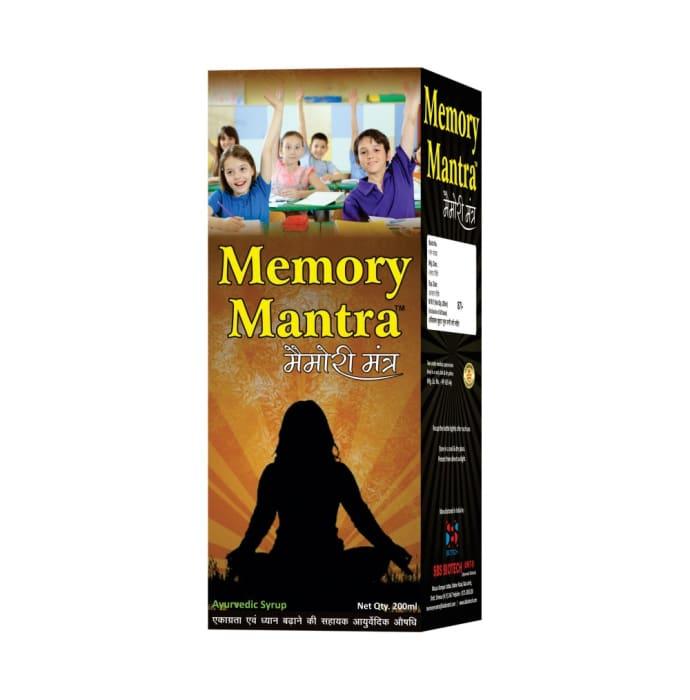 Memory Mantra  Syrup