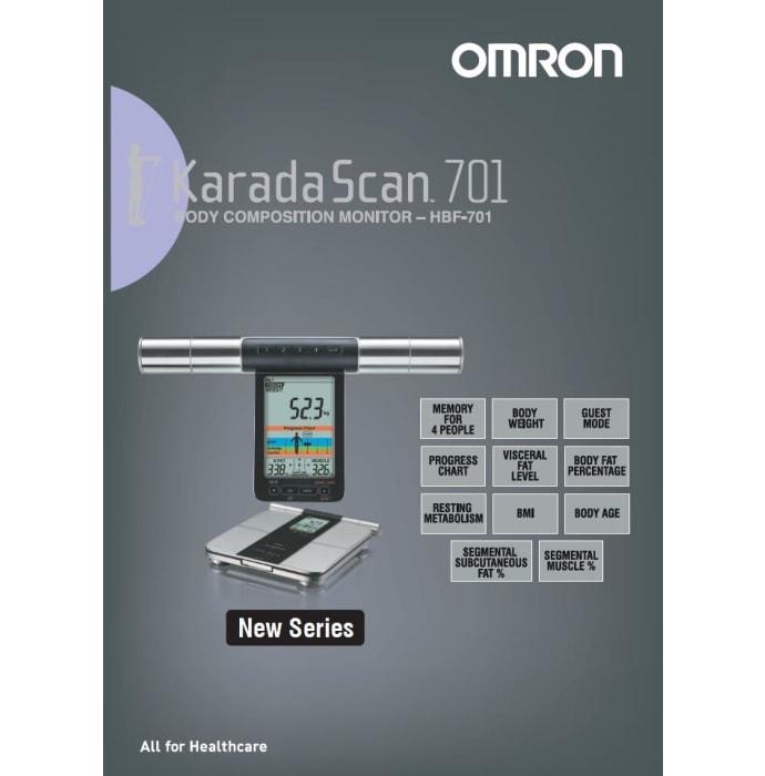 Omron Hbf-701 Body Composition Monitor