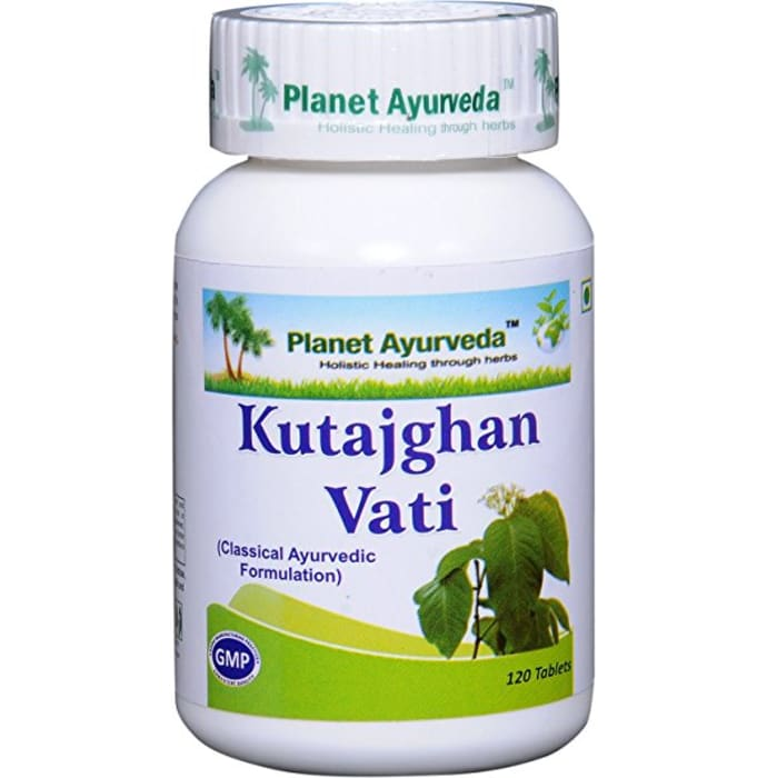 Planet Ayurveda  Kutajghan Vati