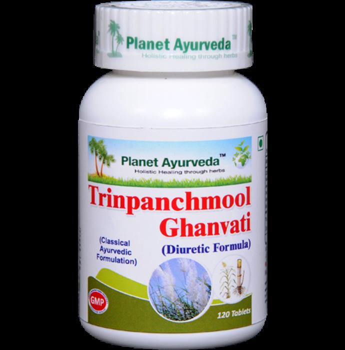 Planet Ayurveda Trinpanchmool Ghan  Vati