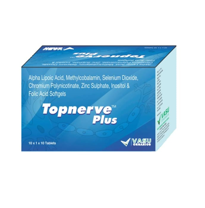 Topnerve Plus Softgel Capsule