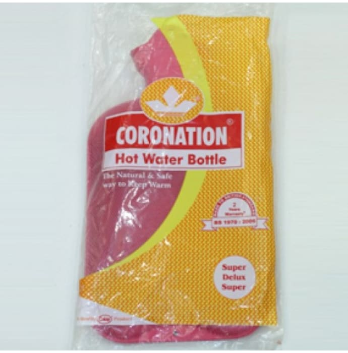 Coronation Hot Water Bottle (Super Deluxe Super)