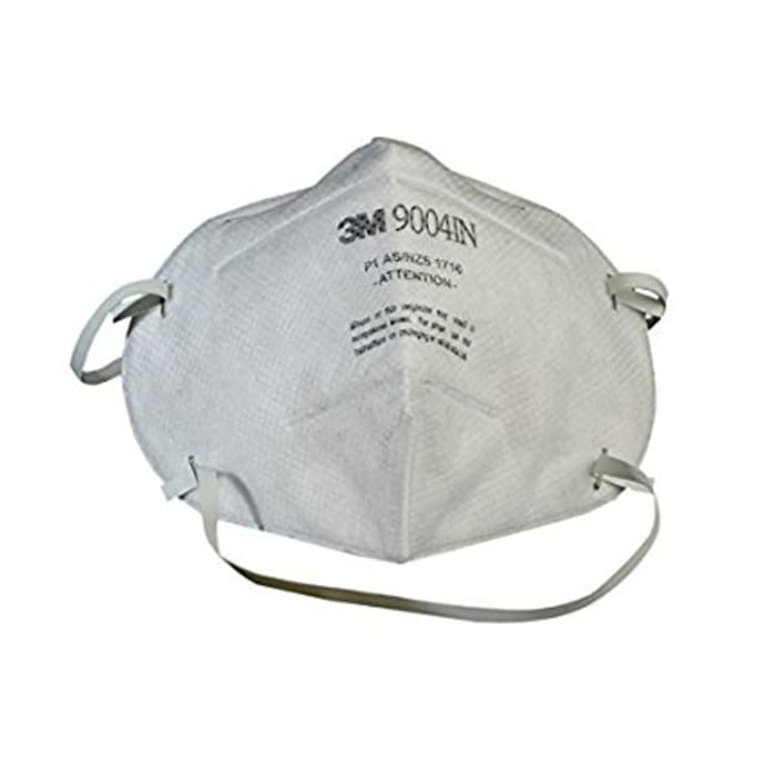 3M 9004IN Particle Respirator Mask (Pack OF 10)