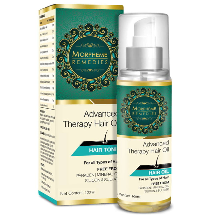 Morpheme Advanced Therapy Hair Oil