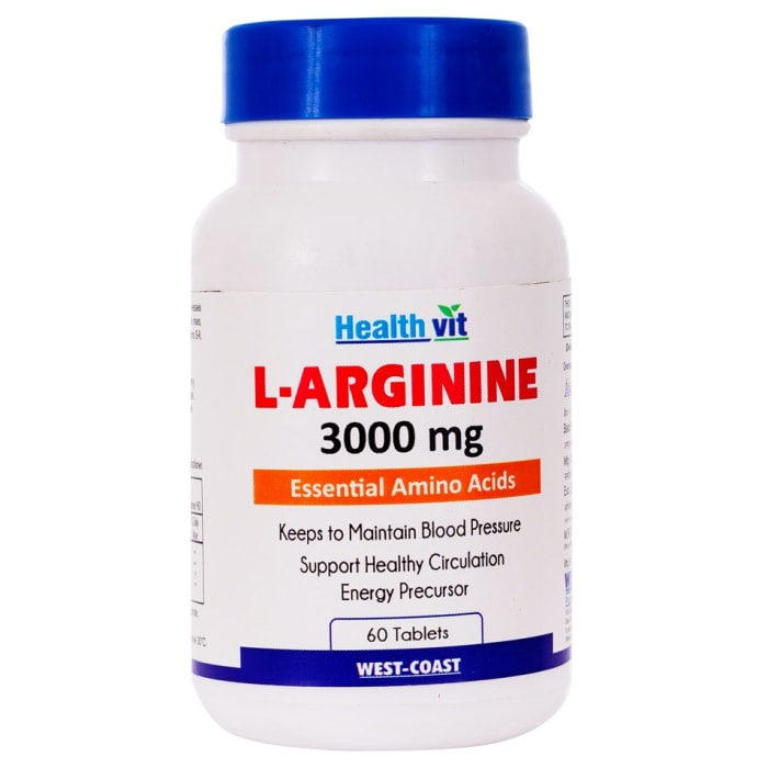 HealthVit L- Arginine 3000mg  Tablet