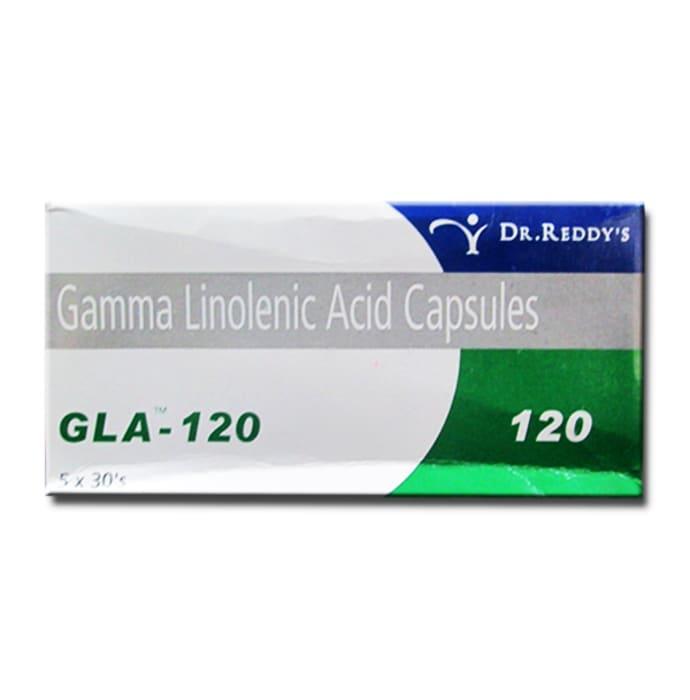 Gla 120mg Soft Gelatin Capsule