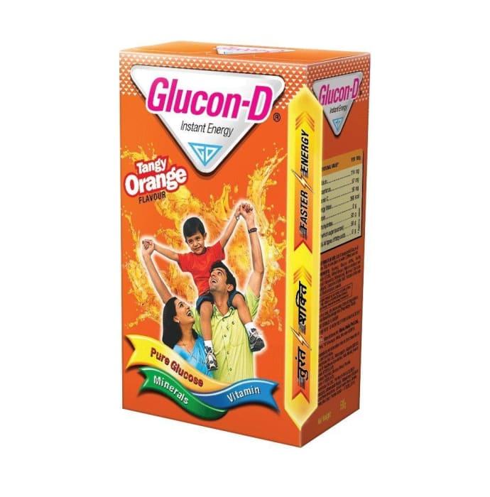 Glucon-D Orange Powder Orange