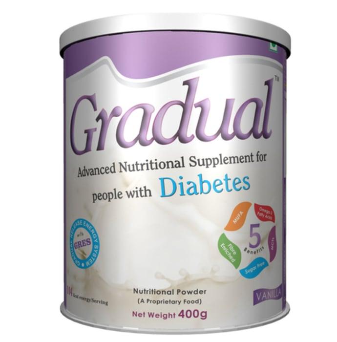 Gradual Diabetes Powder Vanilla