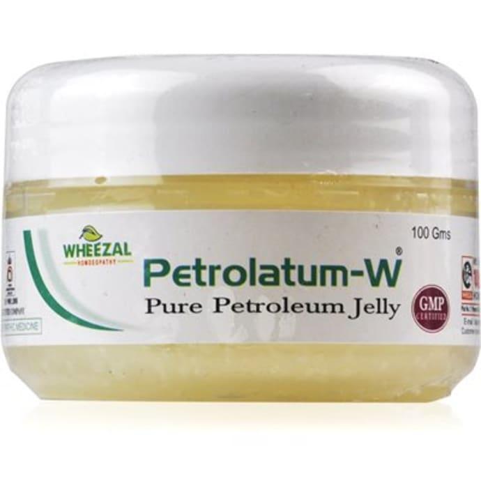 wheezal petrolatum w pure petroleum jelly buy wheezal petrolatum w pure petroleum jelly 100 gm. Black Bedroom Furniture Sets. Home Design Ideas