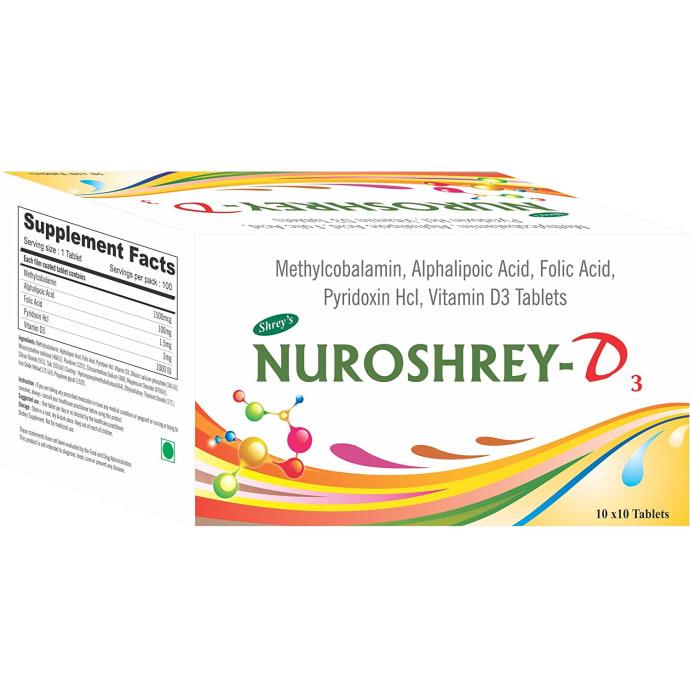 Nuroshrey -D3 Tablet