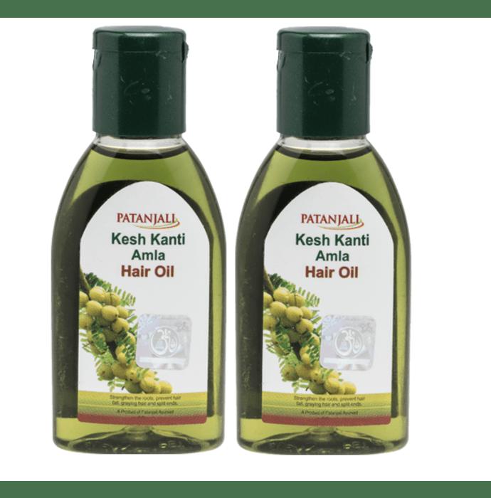 Patanjali Ayurveda Kesh Kanti Amla Hair Oil Pack of 2