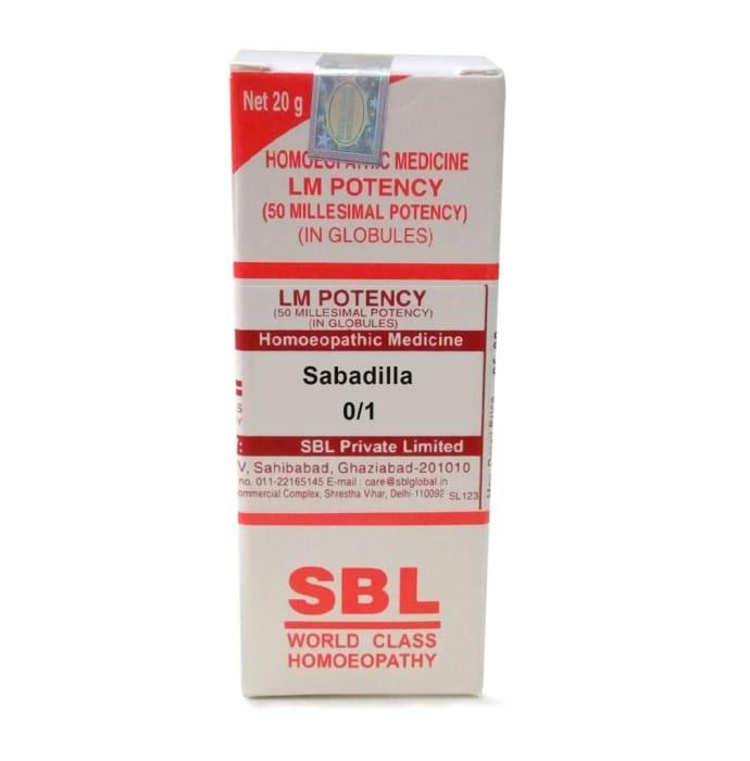 SBL Sabadilla 0/1 LM