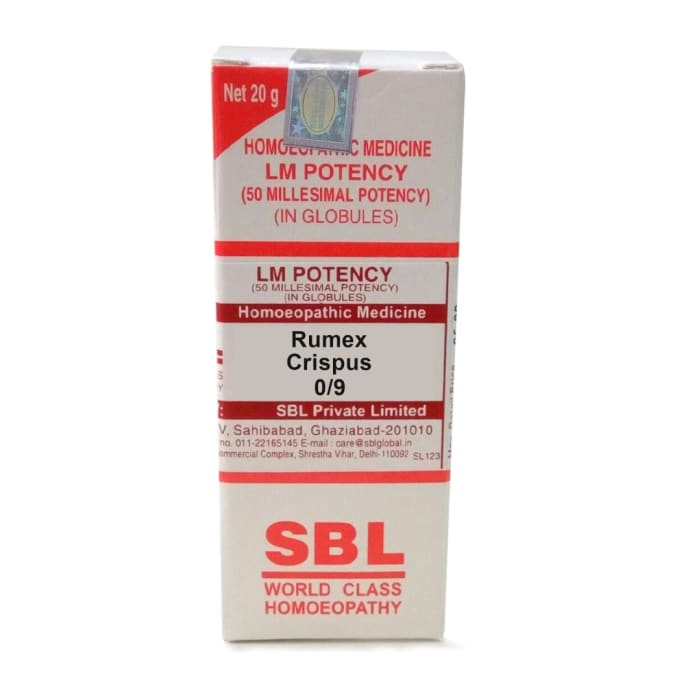 SBL Rumex Crispus 0/9 LM