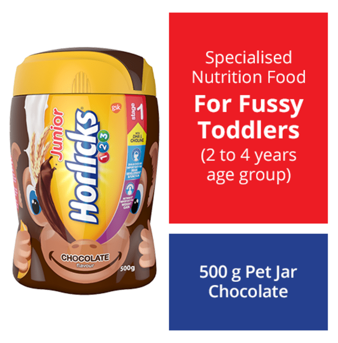 Horlicks Junior Stage 1 Powder Chocolate