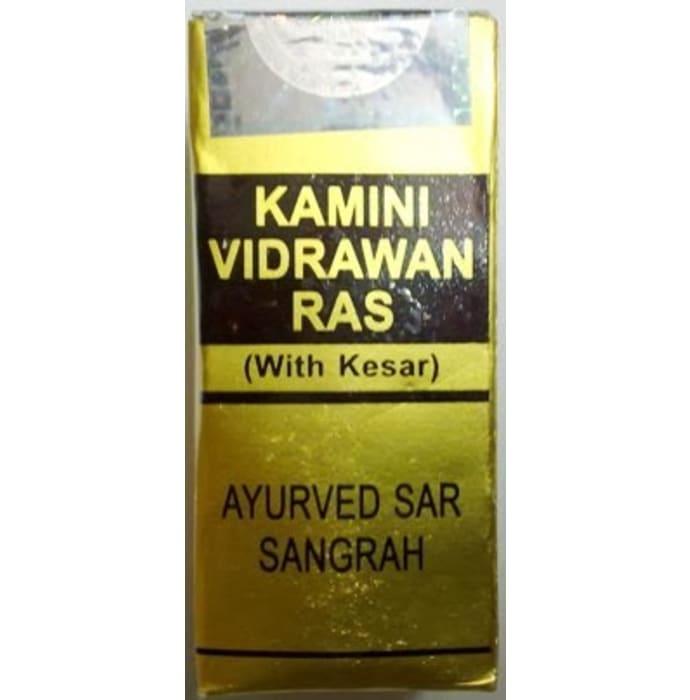 Rex Kamini Vidrawan  Ras with Kesar Tablet