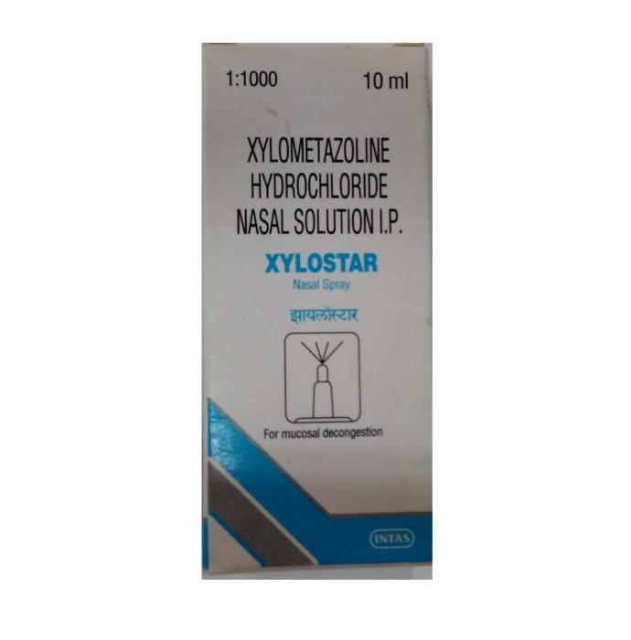 Xylostar 0.1% w/v Nasal Spray