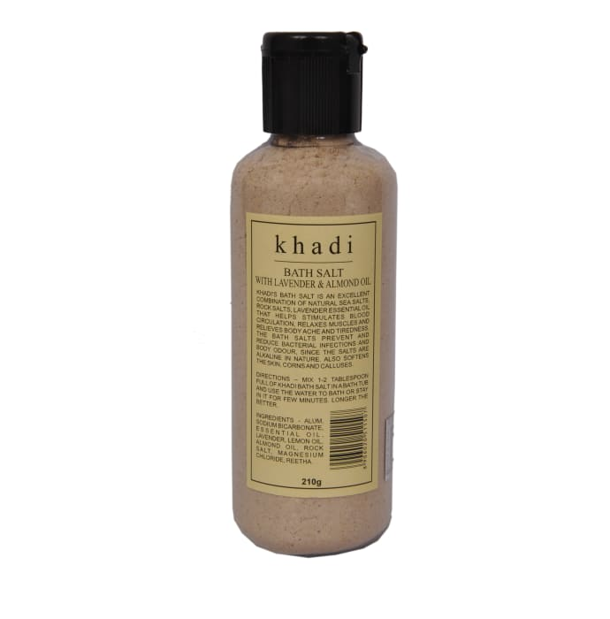 Khadi Naturals Bath Salt With Lavender & Almond Oil