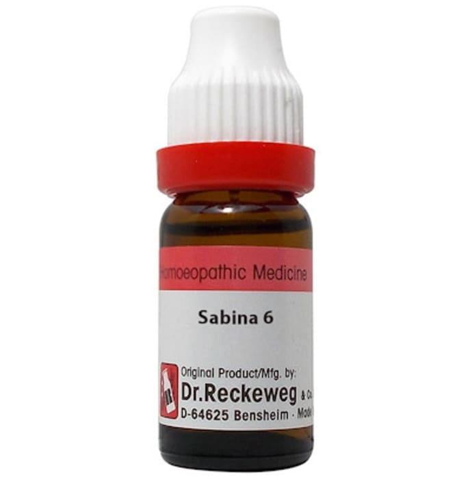 Dr. Reckeweg Sabina Dilution 6 CH