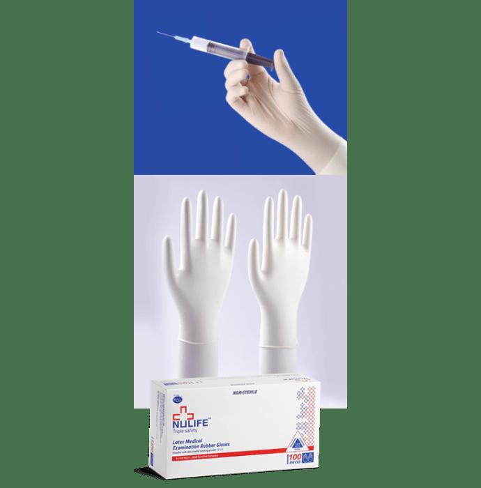 Nulife Latex Examination Non-Powdered, Non Sterile Glove L