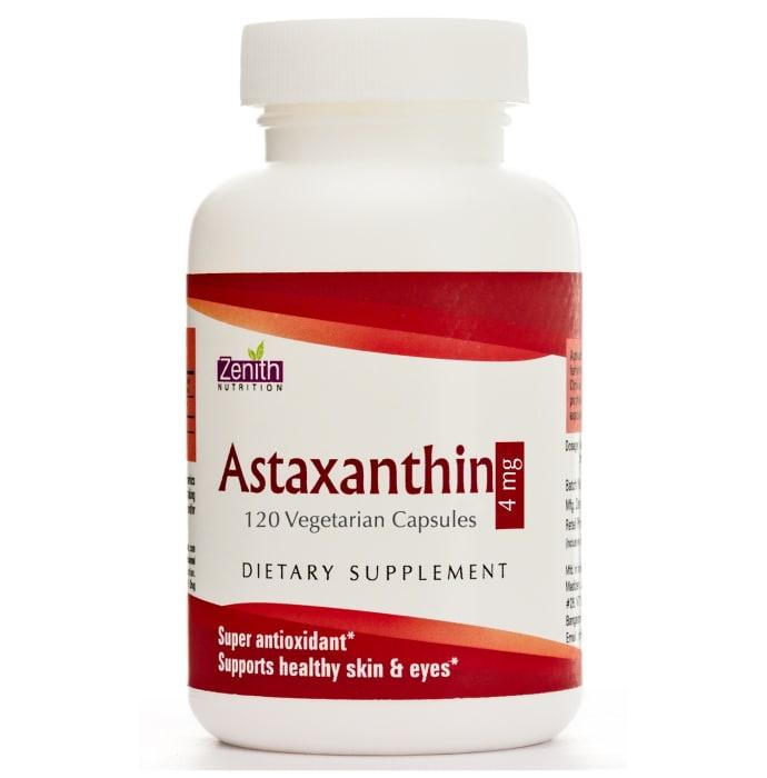 Zenith Nutrition Astaxanthin 4mg Capsule
