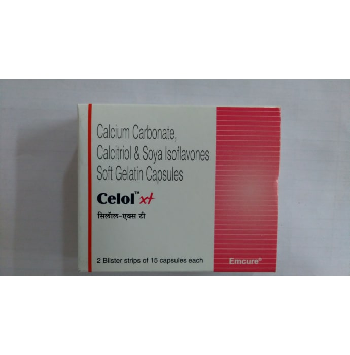 Celol -XT Soft Gelatin Capsule