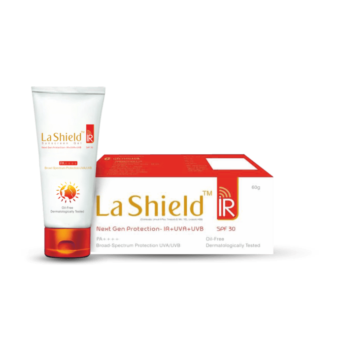 LA Shield IR Sunscreen Gel SPF 30