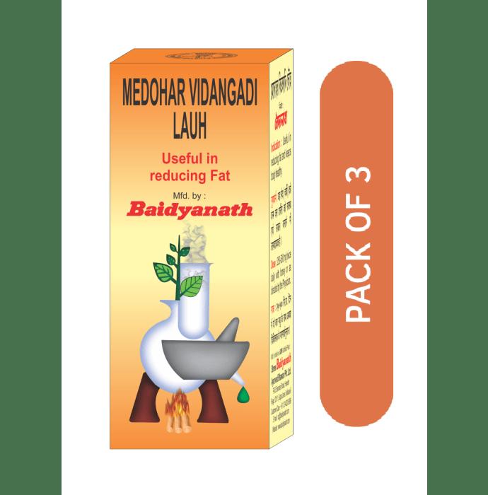 Baidyanath Medohar Vidangadi Lauh Pack of 3