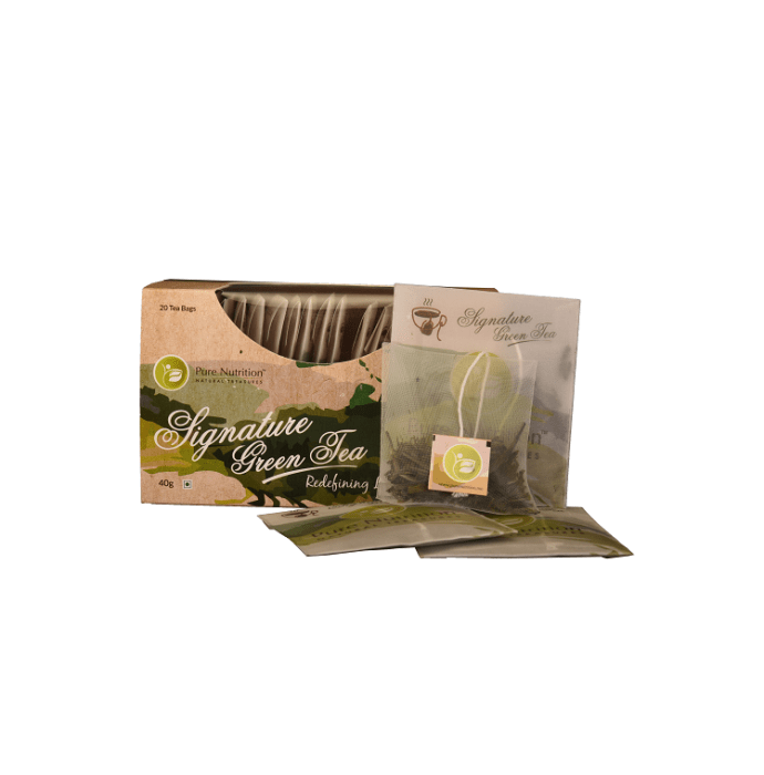 Pure Nutrition Signature Green Tea