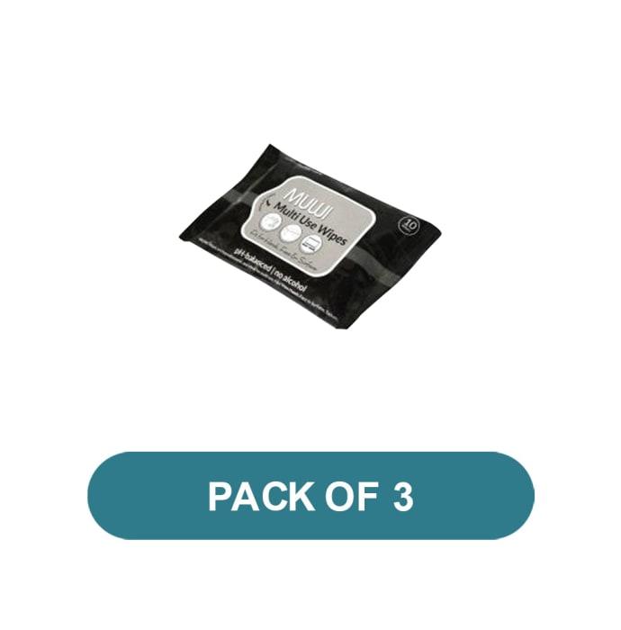 Sirona Multi-Use Wipes Pack of 3