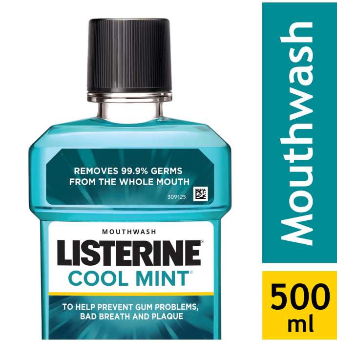 Listerine Mouth Wash Cool Mint