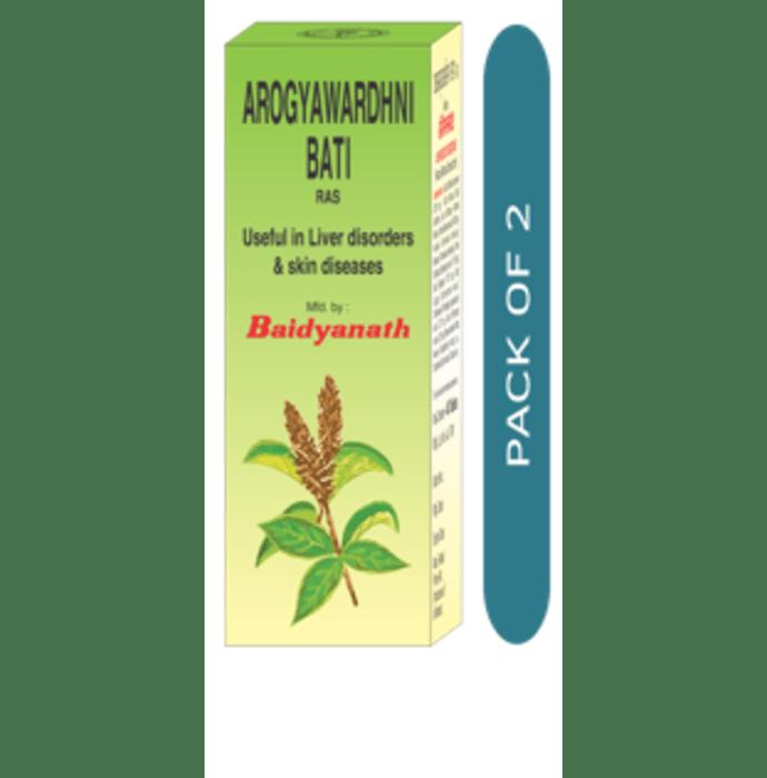 Baidyanath Arogyawardhni Bati Pack of 2