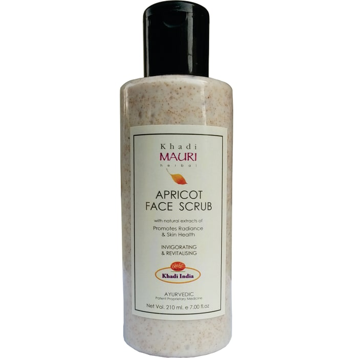 Khadi Mauri Herbal Apricot Face Scrub