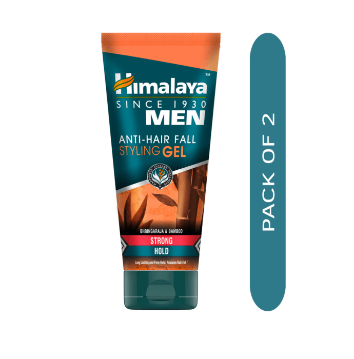 Himalaya Personal Care Anti-Hair Fall Styling Gel Strong Hold Pack of 2