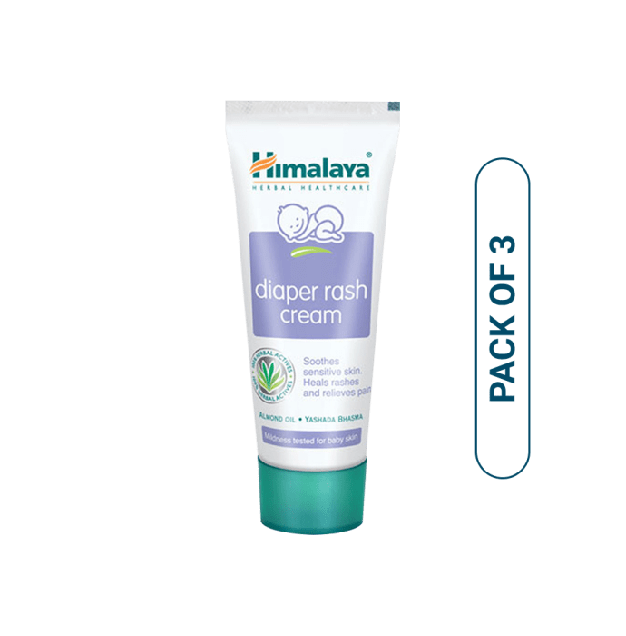 Himalaya Diaper Rash Cream Pack of 3