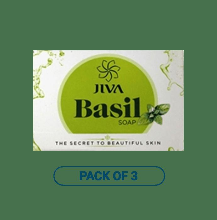 Jiva Basil Soap Pack of 3