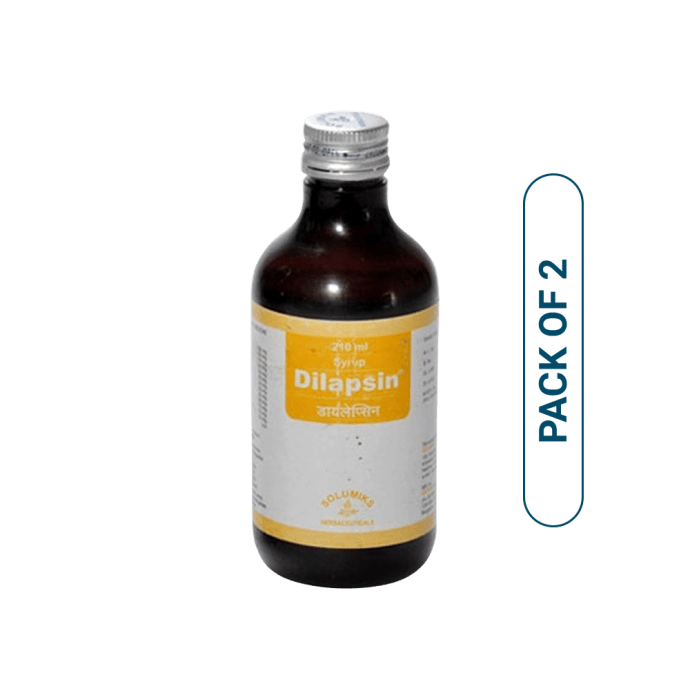 Solumiks Dilapsin Syrup Pack of 2