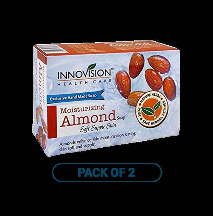 Innovision Almond Moisturizing Soap Pack of 2