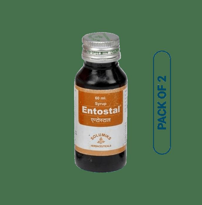 Solumiks Entostal Syrup Pack of 2