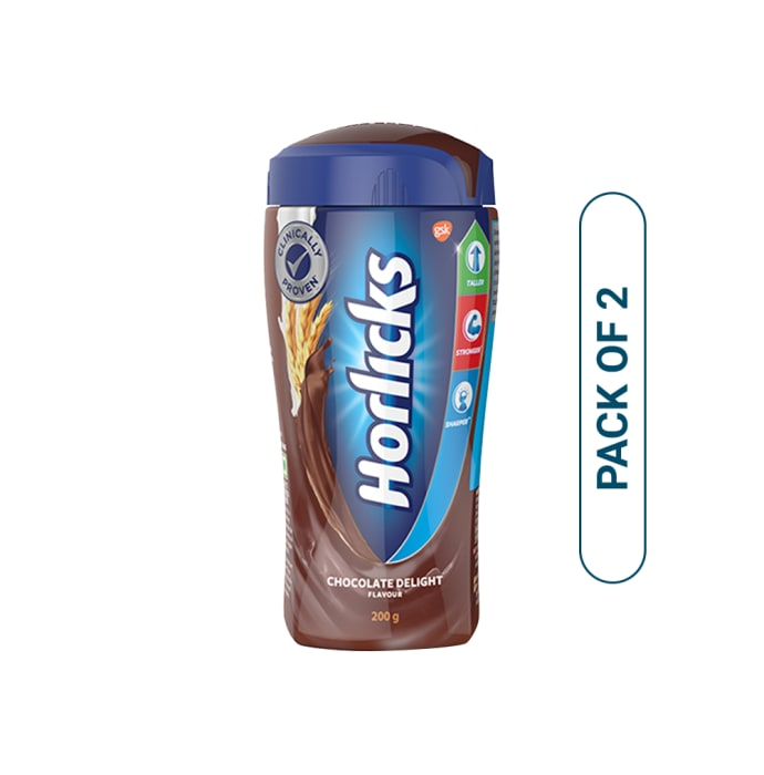 Horlicks Powder Chocolate Pack of 2
