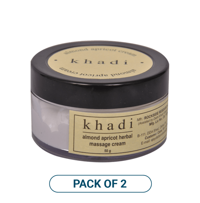 Khadi Naturals Neem Herbal Face Pack Pack of 2