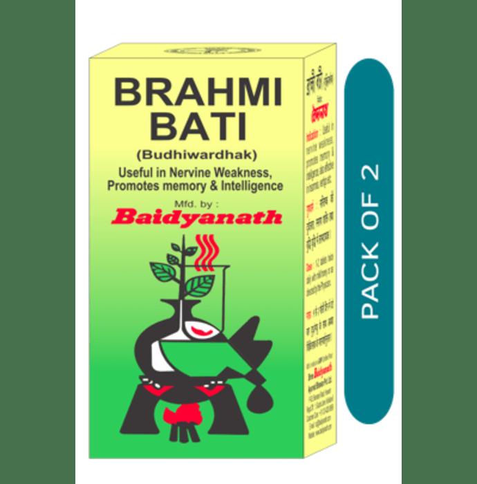Baidyanath Brahmi Bati Pack of 2