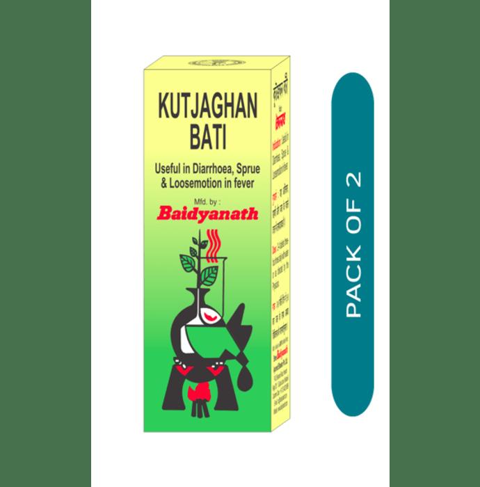Baidyanath Kutjaghan Bati Tablet Pack of 2