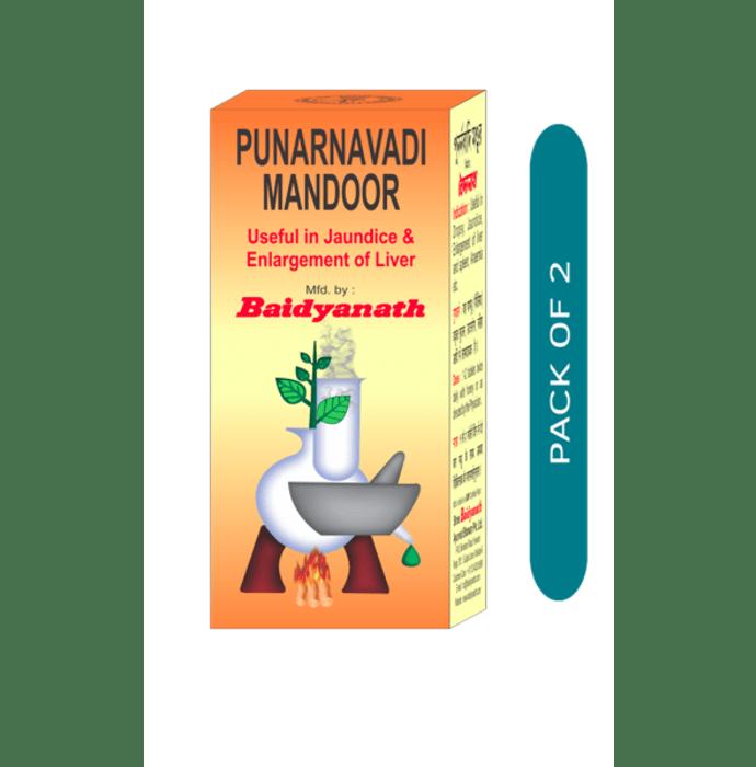 Baidyanath Punarnawadi Mandur Tablet Pack of 2
