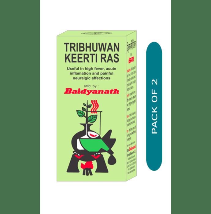Baidyanath Tribhuvankirti Ras Tablet Pack of 2
