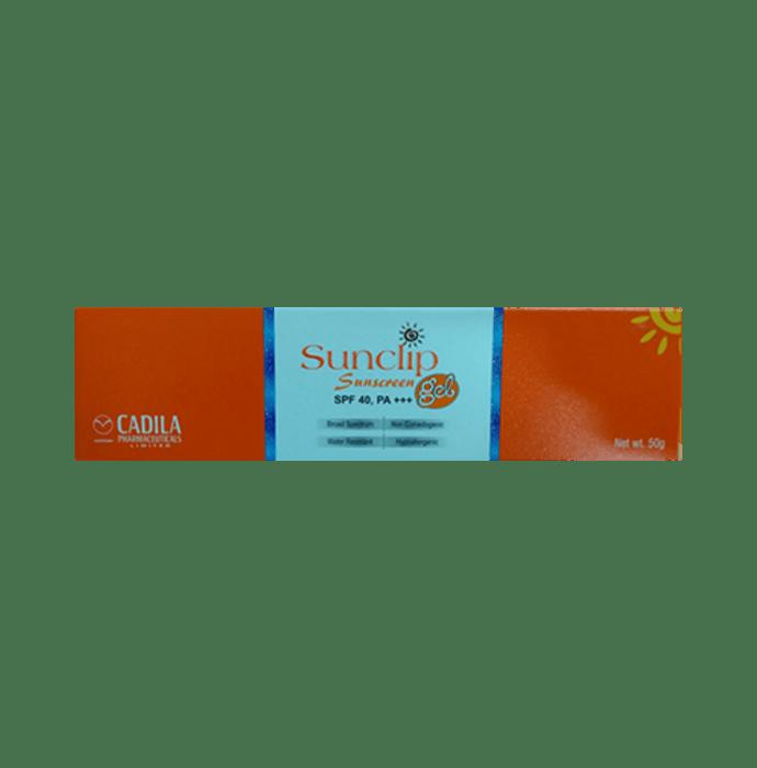 Sunclip Sunscreen SPF 40 Gel